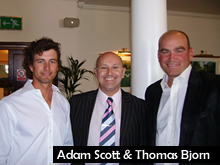 Jed & Adam Scott & Thomas Bjorn